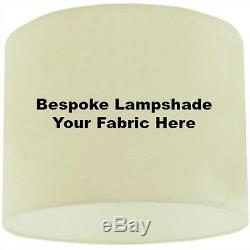 40cm / 16 Bespoke / Custom Made Lampshade with you own Wallpaper or Fabric