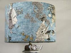 A Stunning Chinese Style Lounge/Side Table Lamp with matching Shade!