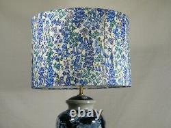 A Stunning Lounge/Side Table Lamp with matching London Designer Shade, Superb