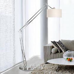 Architect Contemporary 86 Arched Floor Lamp, White