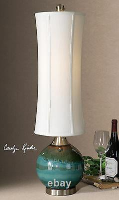 Atherton Upscale 33 Ceramic Drip Finish Accent Table Lamp Uttermost