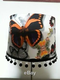 Bespoke Christian Lacroix Butterfly Parade' Opalin' lampshade