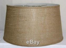 Darby Home Co 21 Burlap Fabric Drum Lamp Shade