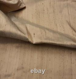 Ivory pure silk dupion Lampshade Metallic Lining Gold Champagne Choose inner