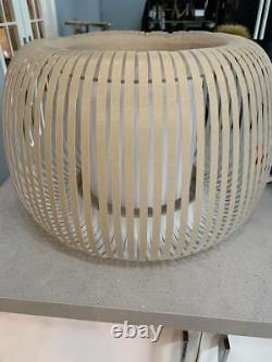 John Lewis Harmony Ceiling or Floor Lampshade Natural. RRP £120 Shade Only
