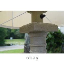 Kenroy Home Patio 31 in. Coquina Outdoor Table Lamp 32223COQN