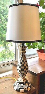 MY OWN Whimsical HP Courtly Lamp with Shade MacKenzie-Childs Ribbon Bow