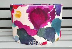 NEW Bluebellgray ABSTRACT multi-colour drum pendant or lampshade 20 30 35 40cm