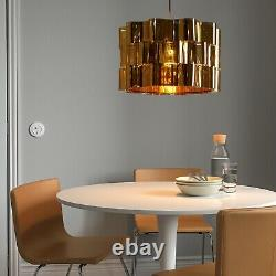 Only One! IKEA ÄLVSTARR Large (Floor/Pendant) Lamp Shade, Gold Effect 20