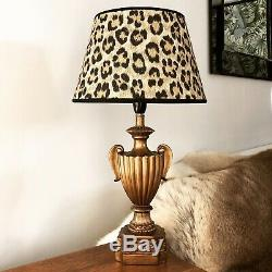 Ralph Lauren Bacara Leopard Small Tapered Table Lampshade