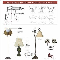 Royal Designs Basic Drum Lamp Shade Beige 15 x 16 x 16