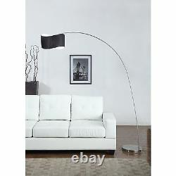 The Curve 81 Arched Floor Lamp, Black