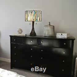 Tiffany Style Contemporary Table Lamp 23 Height And 14 Shade