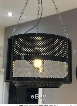 Upcycled Ceiling Light Washing Machine Drum Furniture Recycled
