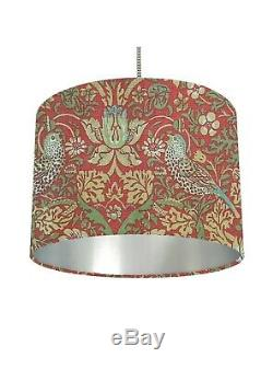 Vintage Liberty William Morris Strawberry Thief Fabric Lampshade Choose Inner