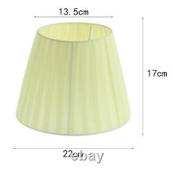 Yellow Lamp Shade Fabric Small Lampshade for Table Lamp and Floor Light